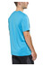 asics Graphic Top Men Blue Jewel